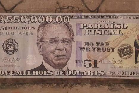 1 Guedes = US$ 9,5 milhões