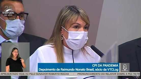 """Diretora da VTCLog confirma ligações para Roberto Dias: """"Questões de trabalho"""""""