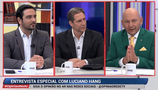Entrevista de Luciano Hang a Lacombe afunda audiência da RedeTV!
