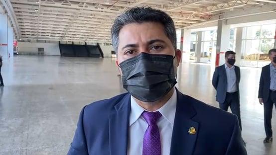 """""""União Brasil nasce sem a predisposição de ser oposição ou base"""", diz Marcos Rogério"""