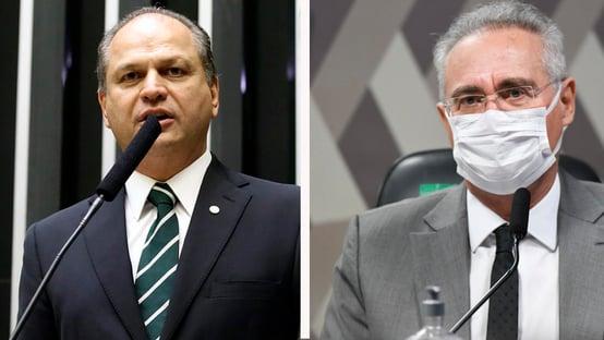 """Barros provoca Renan: """"Aras vai pegar o relatório dele, meter a caneta e arquivar"""""""