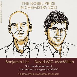 Nobel de Química premia nova ferramenta de construção de moléculas