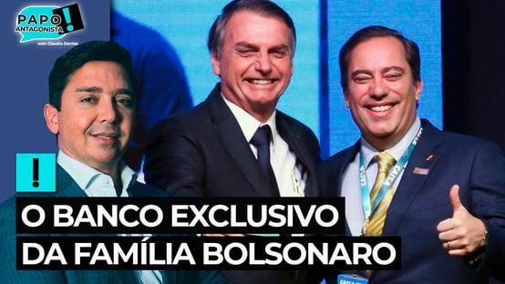 O banco exclusivo da família Bolsonaro