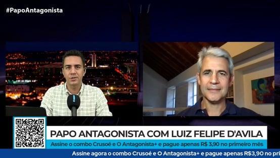 Luiz Felipe DAvila diz que Zema fica no Novo