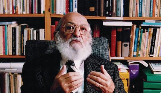 TV Cultura vai homenagear Paulo Freire com documentário no Dia dos Professores