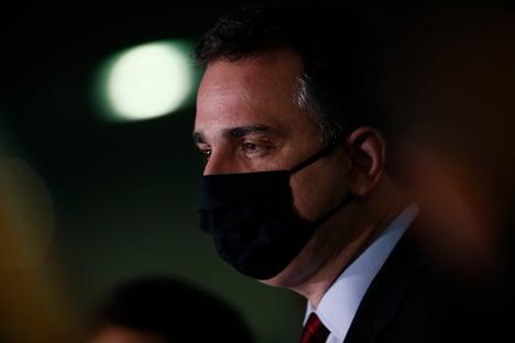"""""""O veto é candidatíssimo a ser derrubado"""", diz Pacheco, sobre absorventes"""