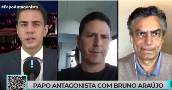 """Araújo: """"Talvez Doria tenha mais vontade do que todos os candidatos"""""""