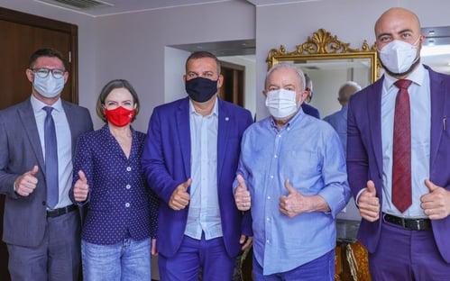 Lula se reúne com lideranças do PROS em Brasília