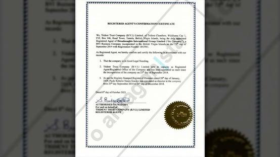 Exclusivo: carta de gestor confirma saída de Guedes de direção da offshore em 2018