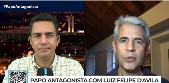 """Luiz Felipe DAvila: """"Moro precisa sair candidato para ver se seu discurso vai atrair as pessoas"""""""