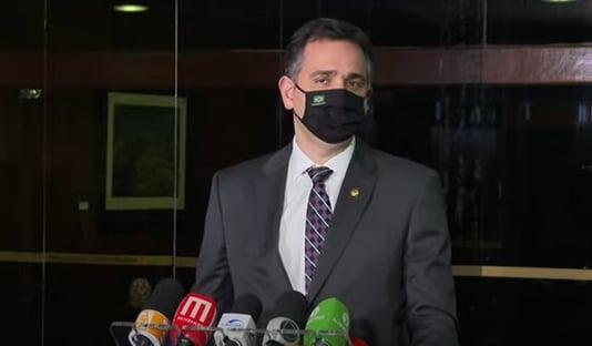 """""""O Senado tem o tempo dele"""", diz Pacheco, sobre PL do ICMS"""