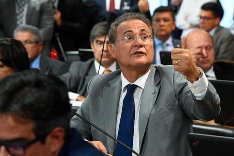 """Renan ataca postura do MDB no Senado: """"É um fim melancólico para o partido"""""""