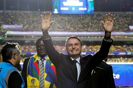 Bolsonaro defende no Supremo liberação da Copa América no Brasil