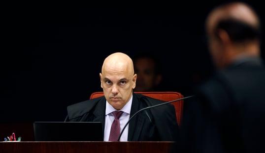 3 x 1 – Moraes vota pela manutenção da suspeição de Moro