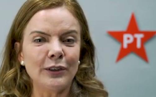 """""""Lula está emocionado"""", diz Gleisi, guardiã do sistema judicial"""