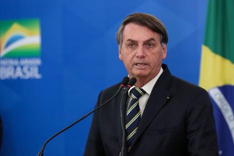 """A pandemia foi superdimensionada"", diz Bolsonaro"