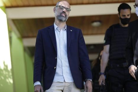 """""""Precisamos da Secom"""", disse Allan dos Santos a Eduardo Bolsonaro"""