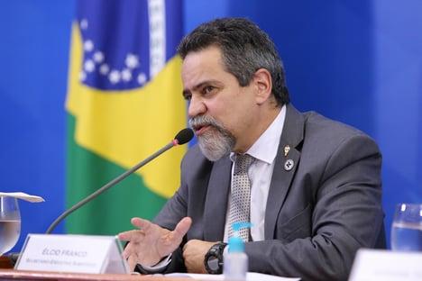 AO VIVO: Élcio Franco fala à CPI da Covid