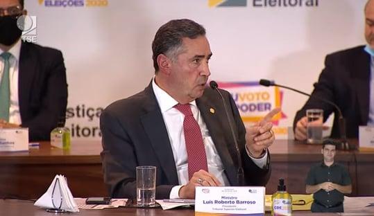 Barroso defende revisão da Lei de Segurança Nacional