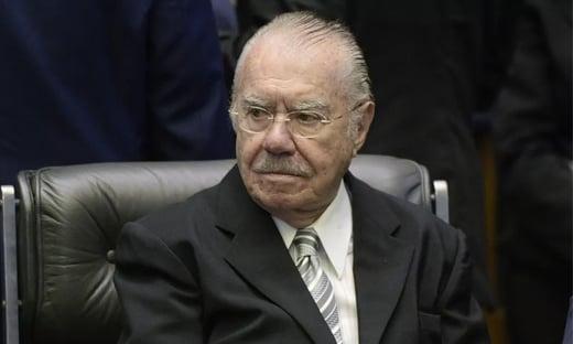 Em encontro, Bolsonaro deu os parabéns a Sarney