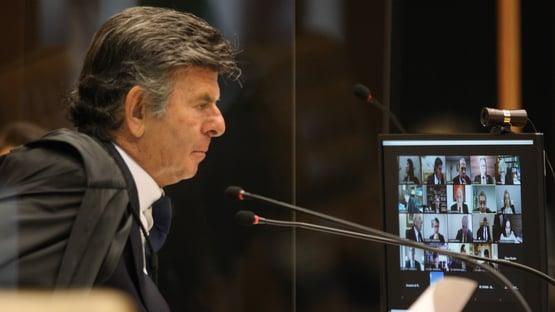 Barroso e Gilmar batem boca e Fux encerra sessão sobre suspeição de Moro