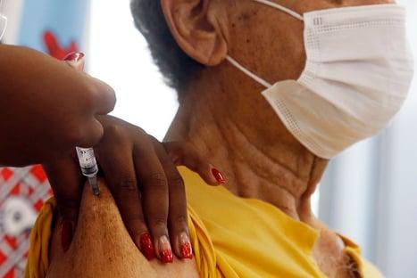 Covid: Brasil chega a 29 milhões de vacinados com a 1ª dose