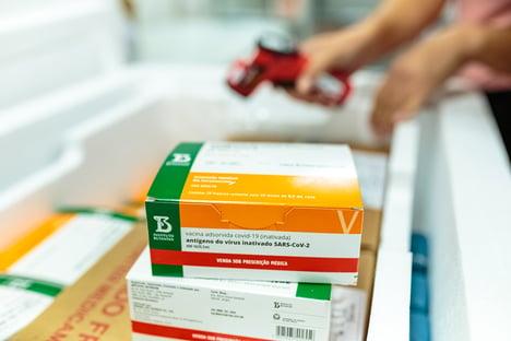 Butantan envia 420 mil doses da Coronavac ao Ministério da Saúde
