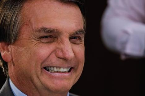 A gargalhada de Bolsonaro
