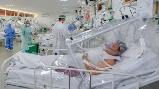 SP vê queda de 25% de internações em UTIs Covid em 2 semanas
