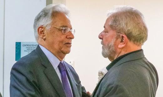 FHC diz que, entre Lula e Bolsonaro, vota no menos ruim