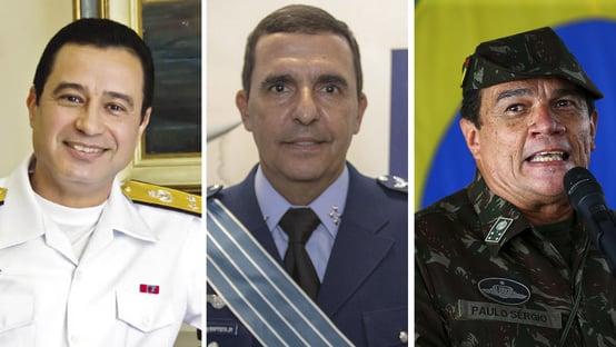 Saiba quem são os novos comandantes das Forças Armadas escolhidos por Bolsonaro