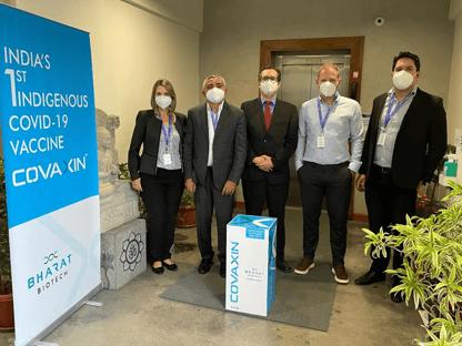 Anvisa rejeita certificação de boas práticas de fabricação da vacina da Covaxin