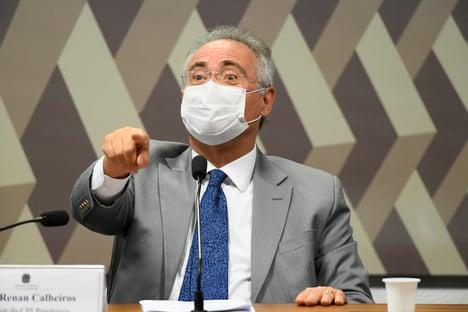 Renan elogia participação de Mandetta na CPI e ironiza ausência de Pazuello