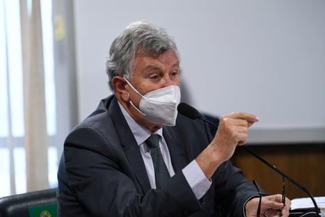 CPI da Covid: Heinze cita teoria da conspiração para defender cloroquina