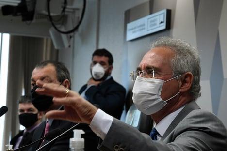 Mesmo com tréplicas, Senado vai manter depoimentos de Mandetta e Teich, diz Renan