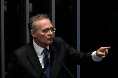 """Renan Calheiros ataca Moro: """"Indigno da toga que usava"""""""