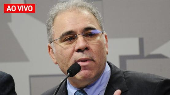AO VIVO: Queiroga fala à CPI da Covid