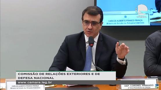 Alinhado a Salles, Carlos França diz que créditos de carbono tornariam Fundo Amazônia desnecessário