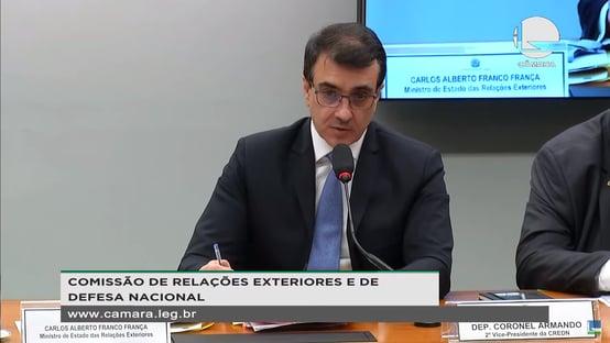 Após Bolsonaro descumprir promessa, França diz que Bolsonaro não descumpriu promessa