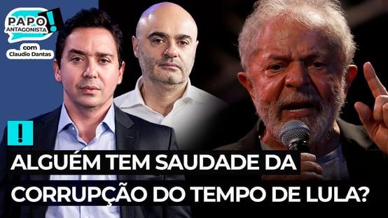 Alguém tem saudade da corrupção do tempo de Lula?