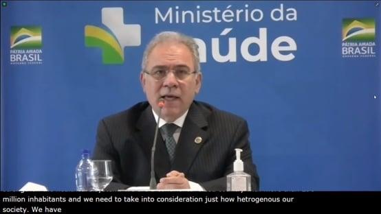 Queiroga não responde a pergunta sobre adesão mínima ao consórcio Covax
