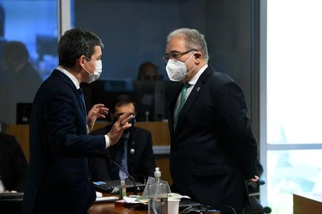'Tratamento precoce não é decisivo no combate à pandemia', diz Queiroga para a CPI