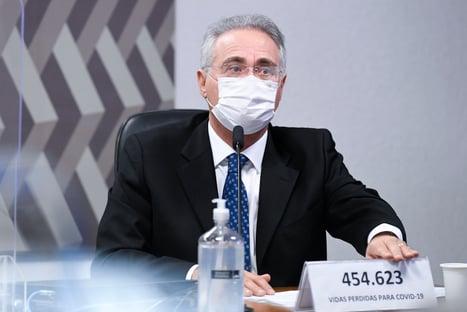 Vossa excelência não está falando a verdade, diz Renan a Elcio Franco