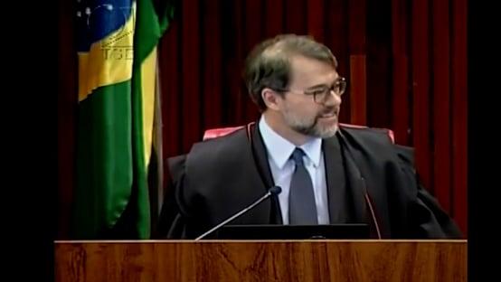 Relatora no TSE questionou Toffoli por rejulgar caso que, segundo Cabral, envolveu pagamento