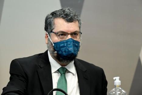 Saiba tudo o que disse Ernesto Araújo na CPI