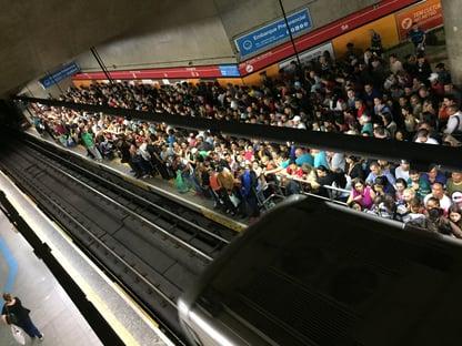 Metroviários de SP anunciam greve para a meia-noite de quarta