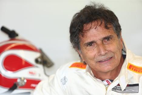 Piquet sem máscara no palanque de Bolsonaro