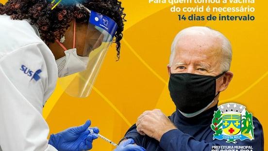 Biden estrela campanha de vacinação de prefeitura no Mato Grosso do Sul