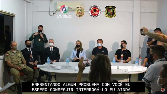Delegado espera interrogar autor de ataque na creche em SC