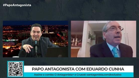 """No Papo Antagonista, Cunha diz que mudança constante de jurisprudência do Supremo """"faz parte do jogo"""""""